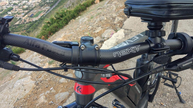 580//600//620//640//660//680//700//720//740//760 Flat//Riser Carbon MTB Handlebar Alfa Pasca Bicycle Handlebars Riser MTB Bike Handle Bar 3K Glossy//Matte 31.8