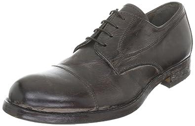 MOMA Derby Shoe 50201, Scarpe Stringate Basse Uomo, Marrone