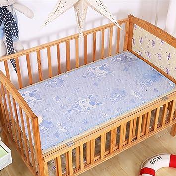 1 Set Baby Summer Cool Mat Bed Pad Breathable Ice Silk Sleeping Crib
