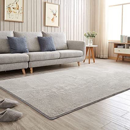 Amazon Com Dei Qi Simple Modern Pure Color Series Carpet
