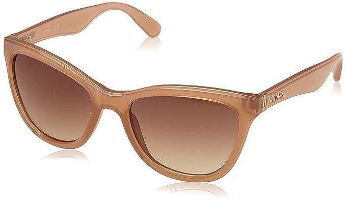 GUESS Gf0296-72F56, Gafas de Sol para Mujer, Rosa, 56
