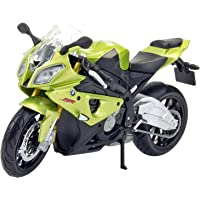 Maisto Diecast Bike BMW S1000RR 1:18 Scale Model Toy Bike - Green