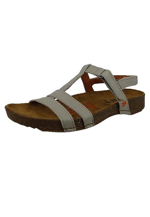 Art 0946 Damen Leder Sandale I Breathe Fog Grau Gr. 36 41