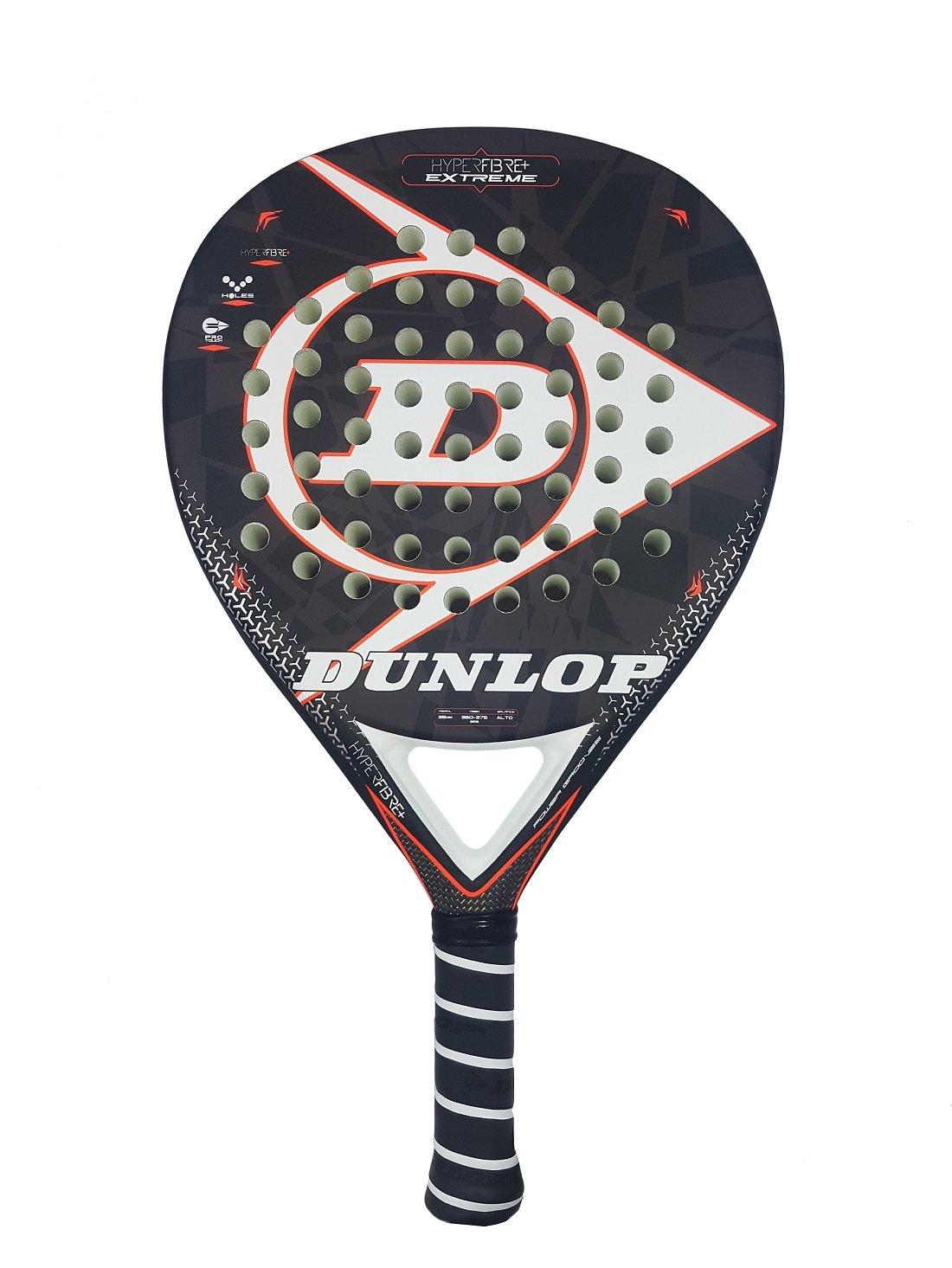 Dunlop Hyperfibre Extreme 2018 Palas, Adultos Unisex, Negro, 375 ...