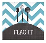 C.R. Gibson Cookbook Page Flag Set, 375