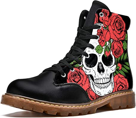 chaussures tête de mort homme femme 3