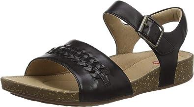 Details about  /Ladies Clarks Buckle Detailed Strap Sandal Un Perri Way