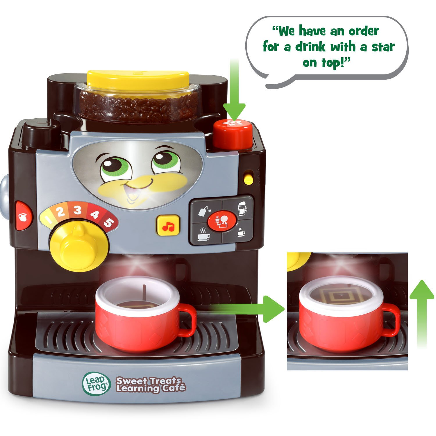 LeapFrog Sweet Treats Learning Café Amazon Exclusive, Black by LeapFrog (Image #3)