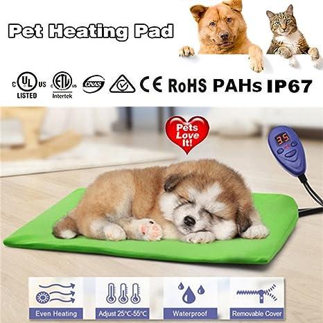 UBEI - Alfombrilla de calefacción para Mascotas (40 x 30 cm), diseño de
