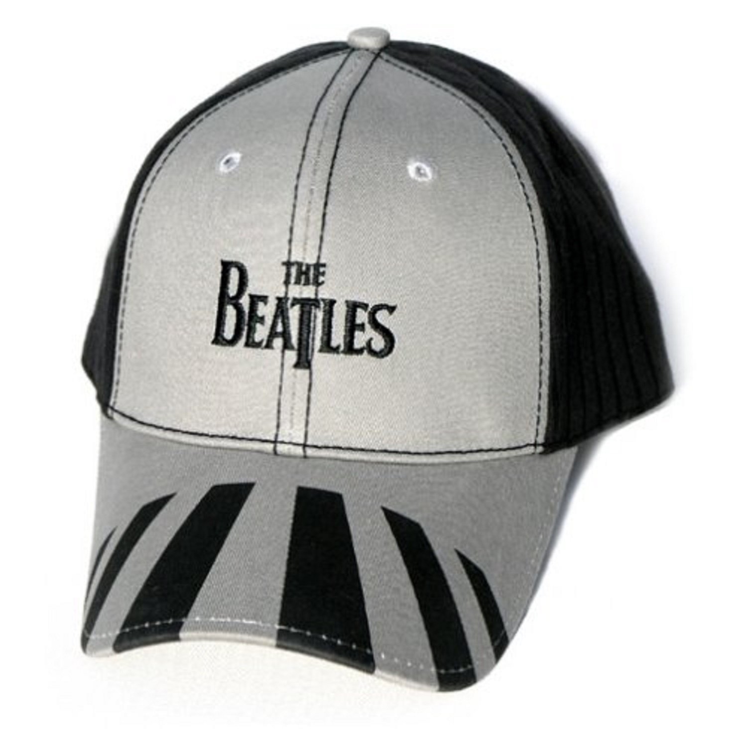 The Beatles - Beatles Baseball Cap: Abbey Road (Black & Grey) - Black & Grey - 56663