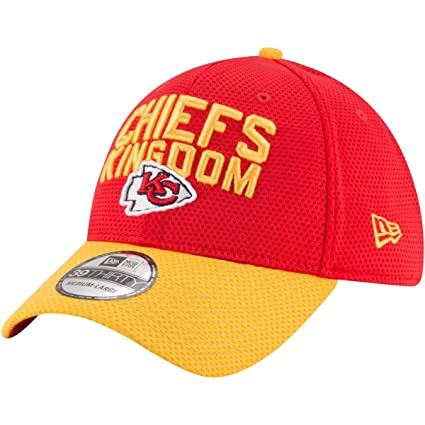 New Era Kansas City Chiefs 2018 NFL Draft Spotlight 39THIRTY Flex Hat -Red  (S 9e0fef1dd