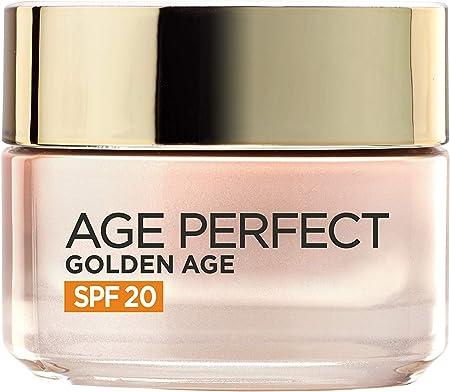 L'Óreal Paris Age Perfect Golden Age, Crema Iluminadora de Día con Protección Solar (SPF 20) - 50 ml