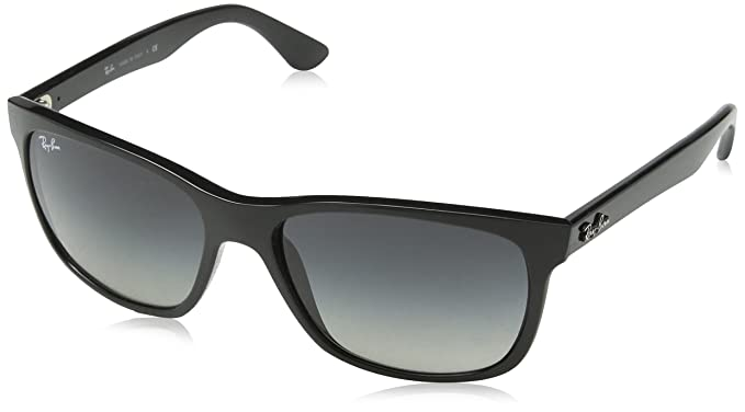 ray ban sunglasses rb4181 frame black lens crystal gray gradient