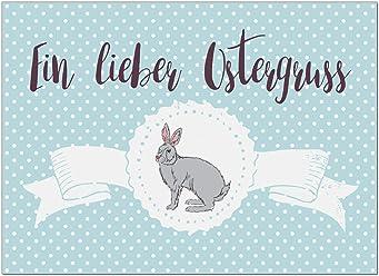 15 x Postkarten zu Ostern mit Umschl/ägen im Set//Osterkarten modern sch/önes Ostermotiv//Osterpostkarten