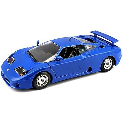 Bburago Maisto France 22025 Bugatti EB 110 - Echelle 1/24 - Coloris Aléatoire