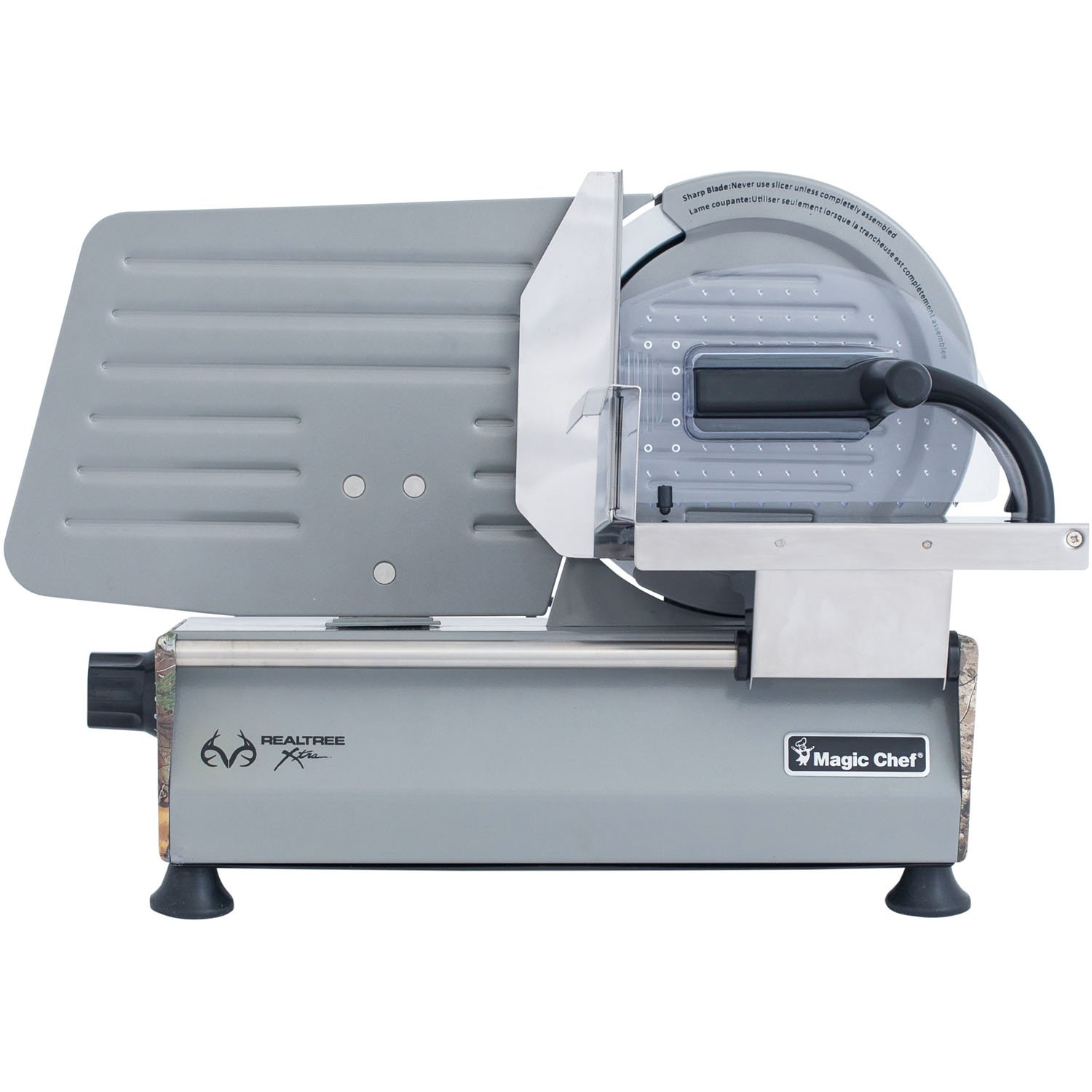 Amazon.com: Magic Chef MCL86MSRT Realtree Xtra Meat Slicer, 8.6 ...