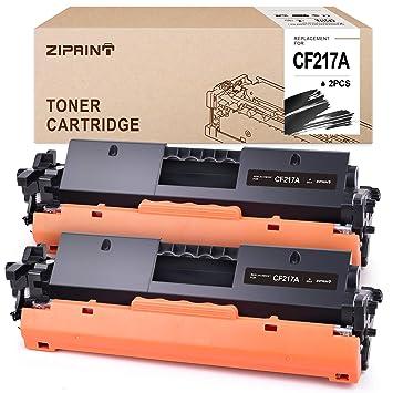 Ziprint - Cartucho de tóner Compatible HP 17A CF217A para ...