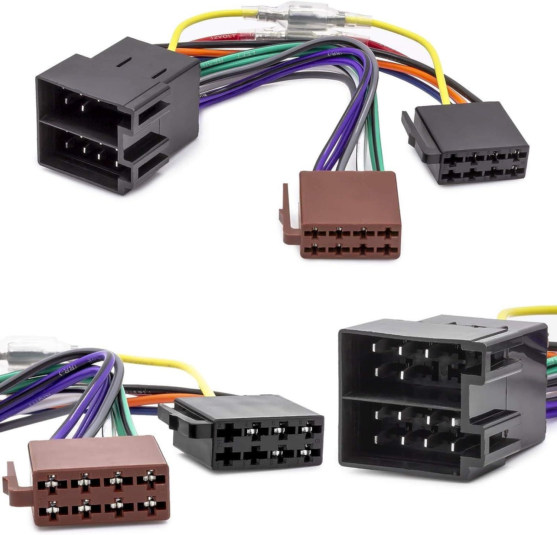 Cable adaptador para radio de coche para Opel Astra F G Corsa B C (conector ISO)