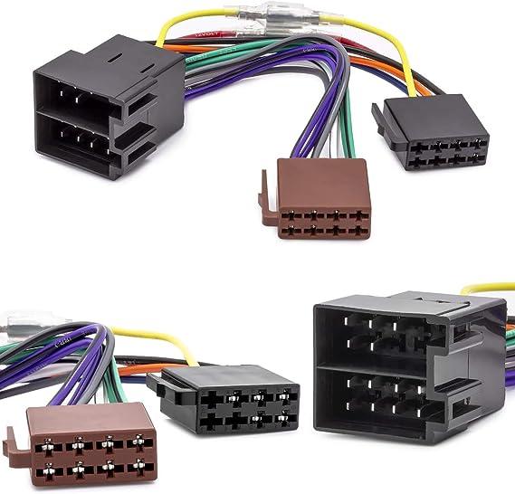 Cable adaptador para radio de coche para Opel Astra FG Corsa BC (conector ISO)