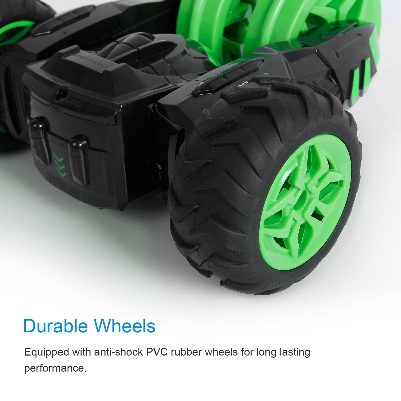 SGILE RC Coche Control Remoto 360° Stunt Car Coches Teledirigido Juguete para niños: Amazon.es: Informática