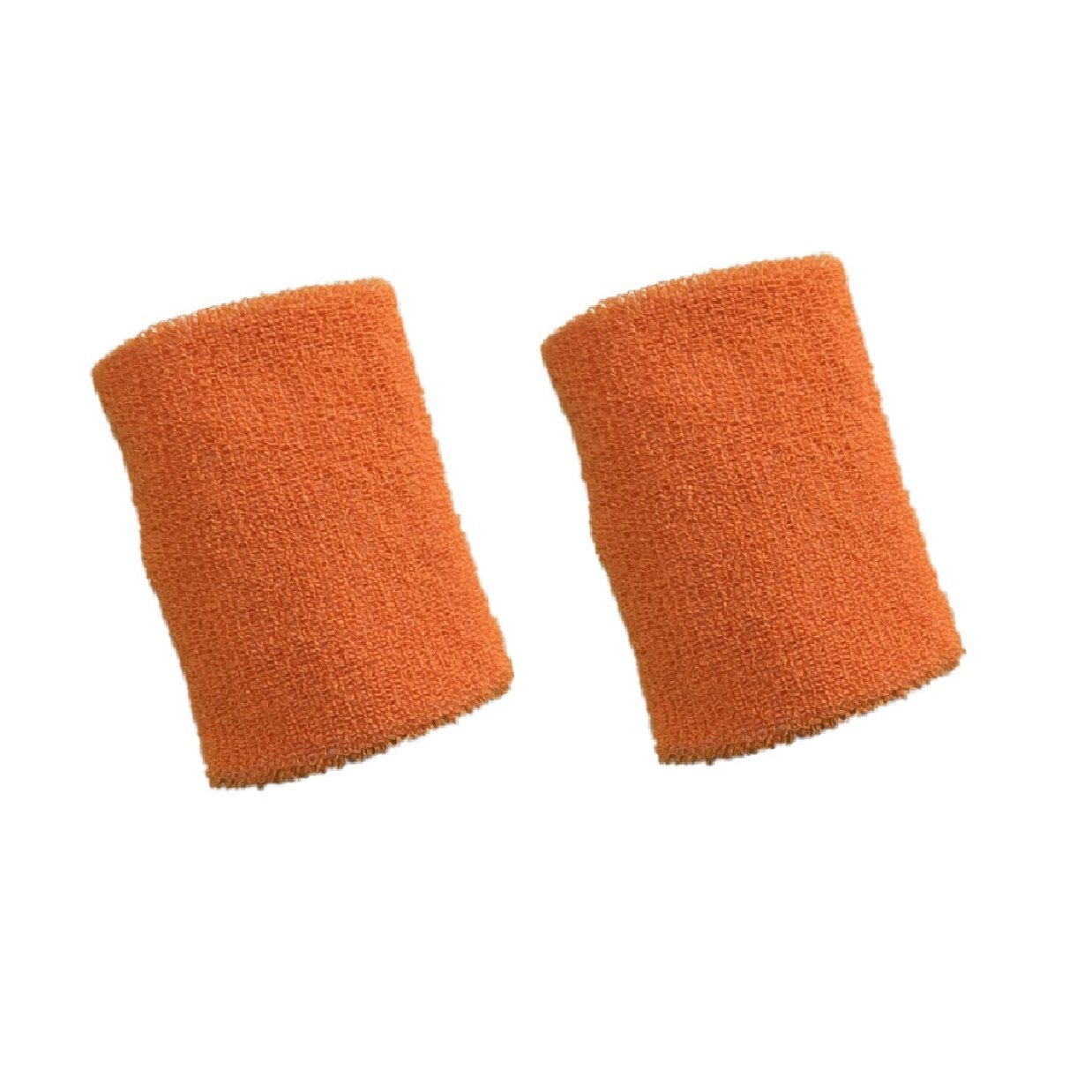 1 Pair Mcolics 4 Inch Wrist Sweatband in 11 Athletic Cotton Wristbands Armbands