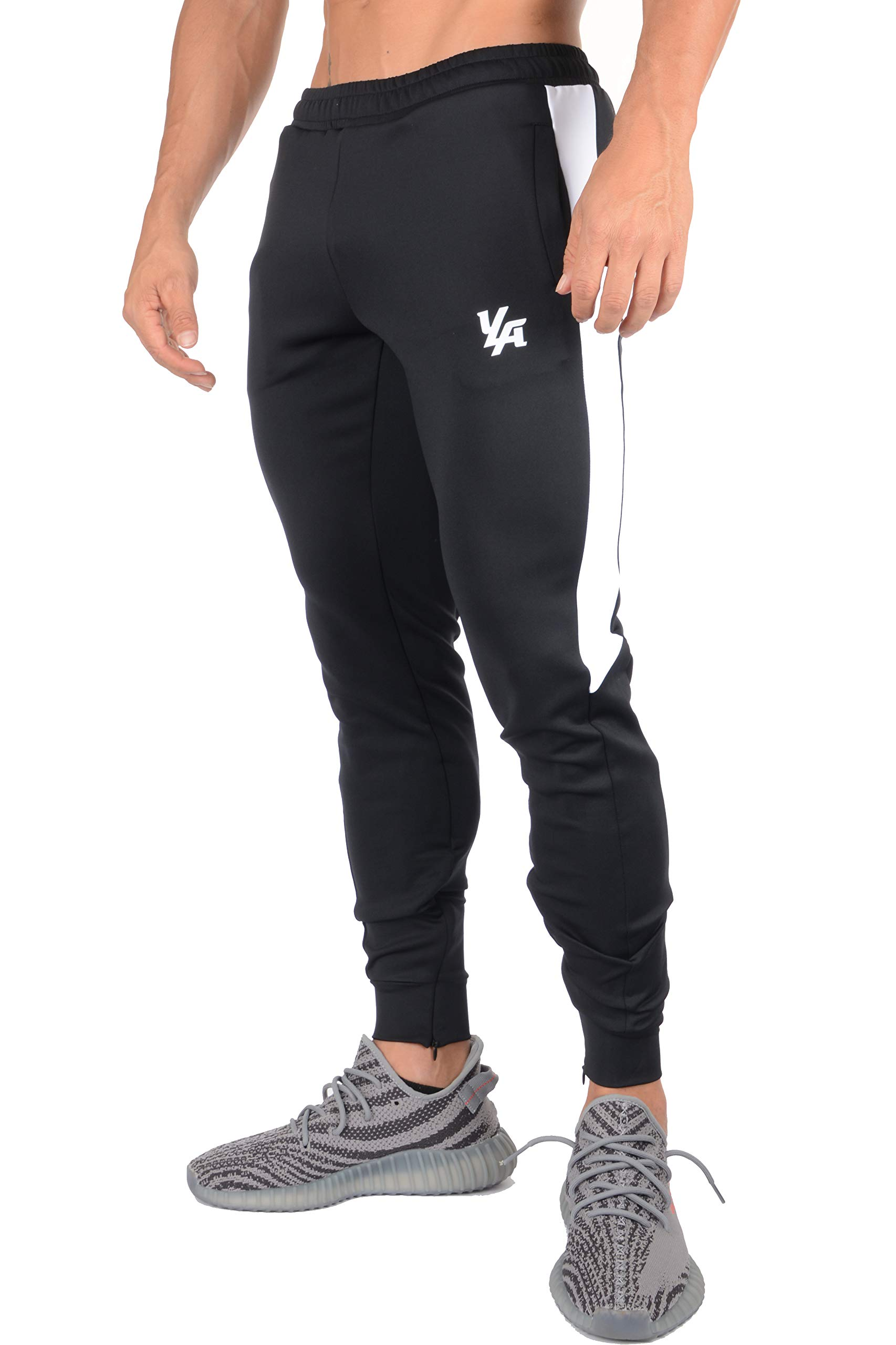 c723b55577 YoungLA Athletic Track Pants for Men Joggers Slim Fit Workout Gym Lounge  215 product image