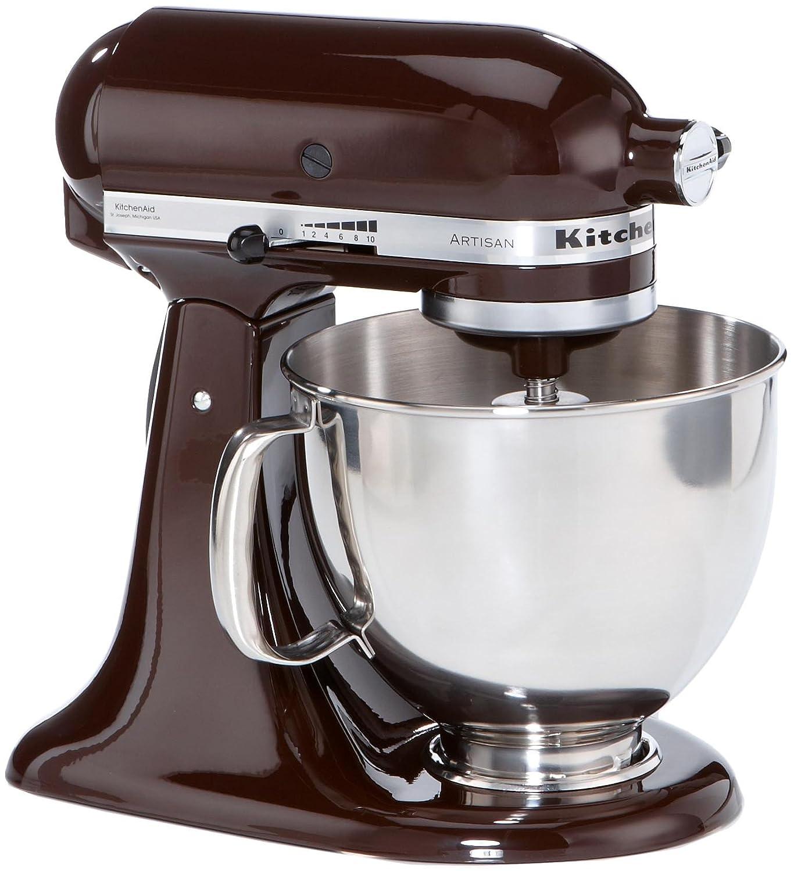 amazonde kitchenaid ksm150psech artisan kchenmaschine chocolate - Kitchenaid Kuchenmaschine Artisan Weis 5ksm150psewh