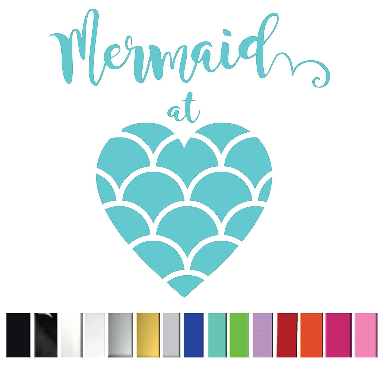 Mermaid in Blue Pattern Printed Decal Window//Car//Truck//Sticker **NEW ITEM**