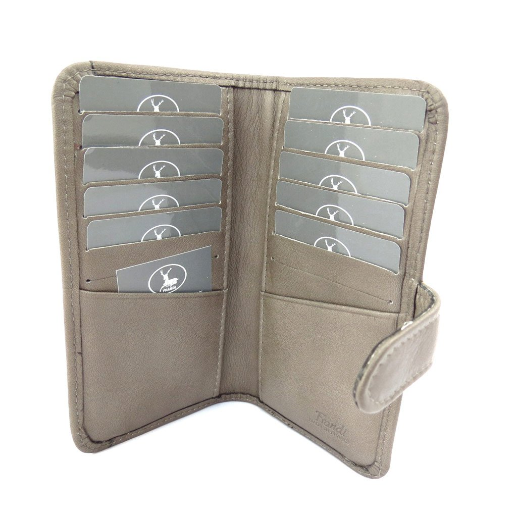 Leather cardholder Frandi mole.