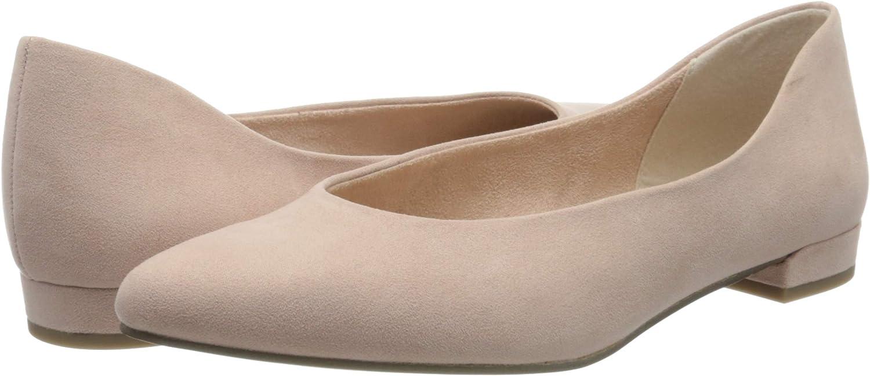Marco Tozzi Womens Closed Toe Ballet Flats