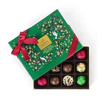 70edc01f2fb7 Amazon.com   Godiva Chocolatier 12 Piece Assorted Chocolate Holiday ...