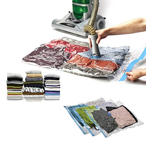 Amazon.com: 10pc Samsonite Vacuum Storage Bags Set Compress ...