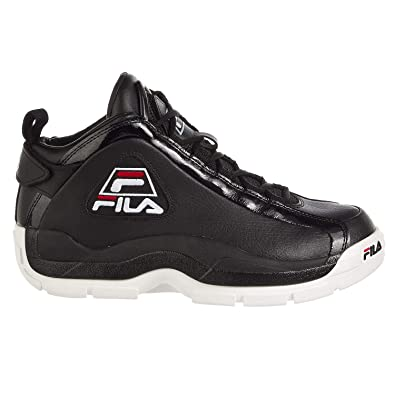 4e446601e4569 Amazon.com | Fila Men's 96 Black/White/Fila Red Sneakers Shoes | Shoes