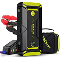 $89 » TACKLIFE T8 Pro 1200A Peak 18000mAh Portable Jump Starter, for up to 7.5L Gas…