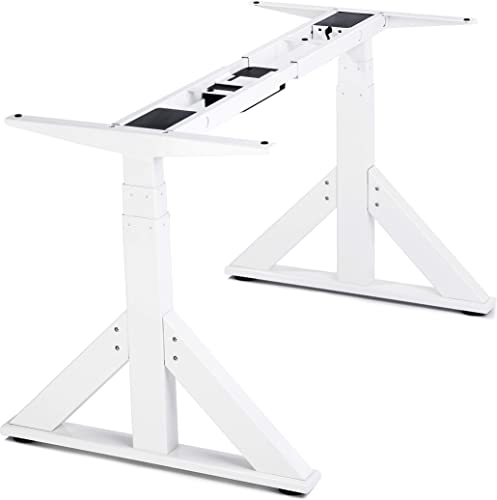 VWINDESK VJ205 Electric Height Adjustable Sitting Standing Desk Frame Sit Stand - the best home office desk for the money