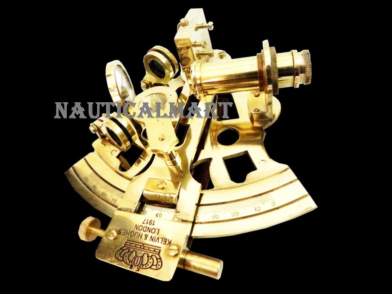 NAUTICALMART Pirate Collectibleアンティーク真鍮六分儀Maritimeインテリアナビゲーション B01IHN081C