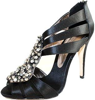 e5c5436e40d8 BOURNE Hannah Ivory Swarovski Elements Diamante Bridal Shoes UK 8 EU ...