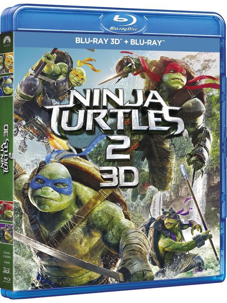 Amazon.com: Ninja Turtles 2 [Combo Blu-ray 3D + Blu-ray 2D ...