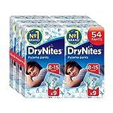 Huggies DryNites Pyjama Pants for Boys, Age 8-15 - 54 Pants Total