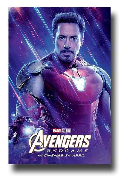 Amazon Com Avengers Endgame Poster Movie Promo 11 X 17 Inches Iron
