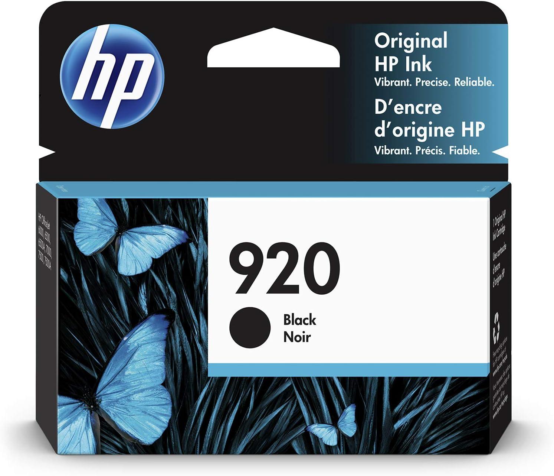 HP 920 | Ink Cartridge | Black | CD971AN