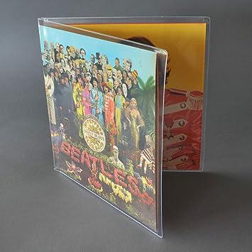 CUIDATUMUSICA Fundas Exteriores para Discos de Vinilo con Carpeta Abierta (Gatefold) para Doble LP - Marca Cuida-Tu-Musica - / Ref.2345