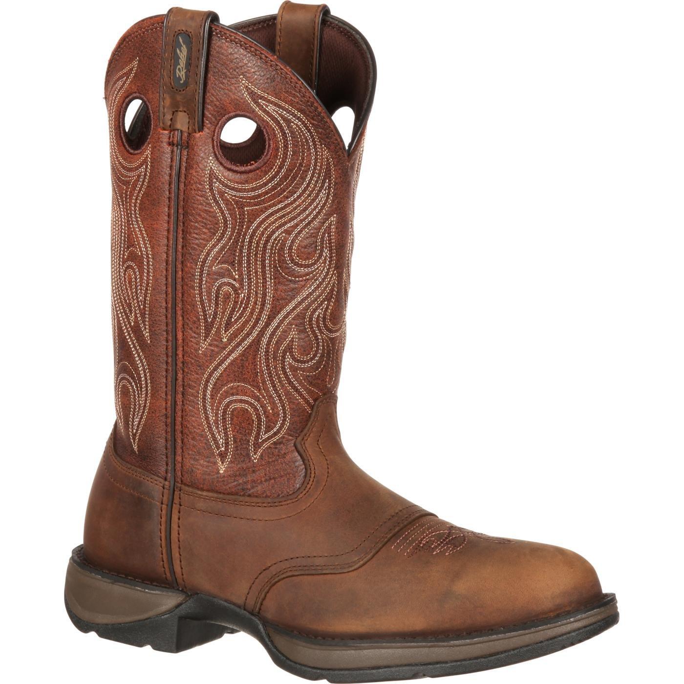 Durango Men's DB5474 Western Boot, Dusk Velocity/bark Brown, 10 M US