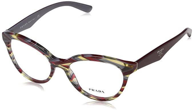 abaf3505572 Prada Women s PR 11RV Eyeglasses 52mm at Amazon Women s Clothing store