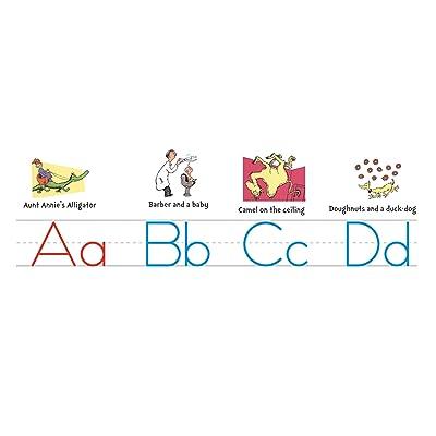 Eureka Dr. Seuss ABC Alphabet Bulletin Board Set and Classroom Decorations for Teachers, 14 ft: Toys & Games