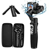 3-Axis Gimbal Stabilizer for GoPro 8 Action Camera Handheld Gimbal Tripod Mount Splash-Proof Wireless Control for Gopro Hero