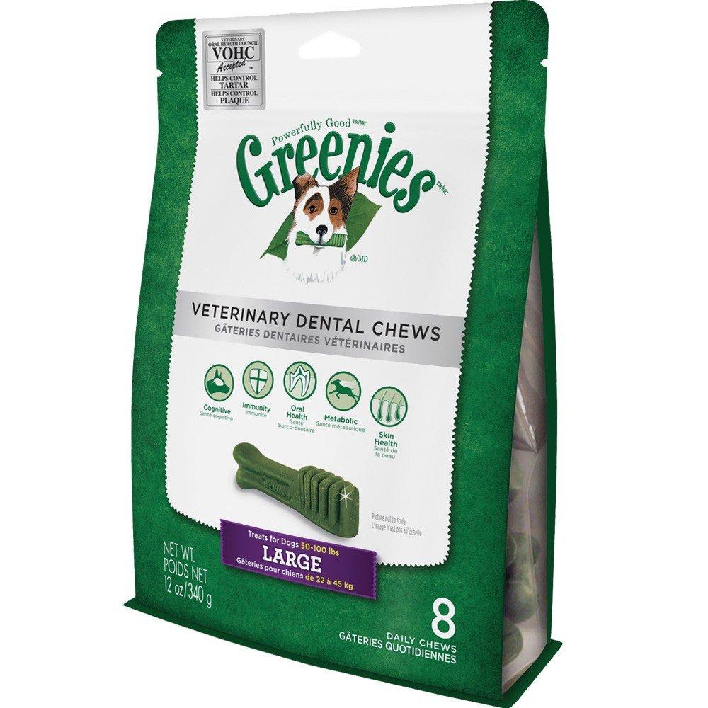 on sale Greenies Veterinary Dental Chews LARGE 12 oz (8 chews)