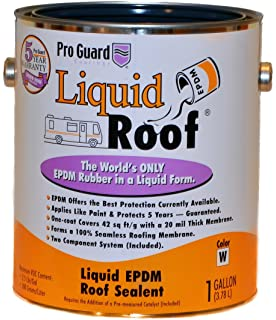 Liquid Roof RV Roof Coating U0026 Repair 1 Gallon