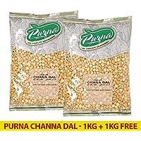 Purna Channa Dal - 1 kg (Pack of 2)