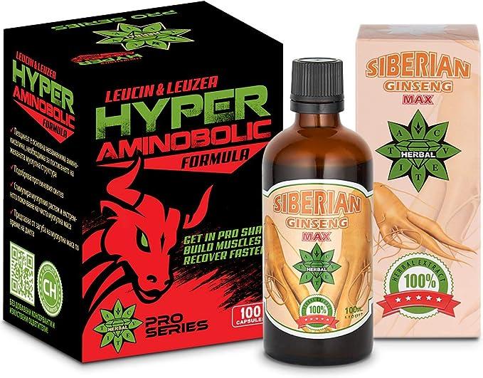 Cvetita Herbal, Ginseng Siberiano Panax 100ml + Hyper ...